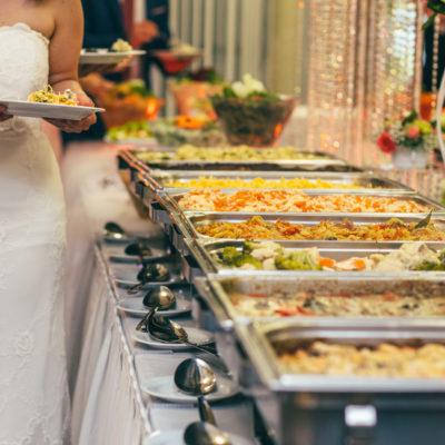 catering food wedding buffet