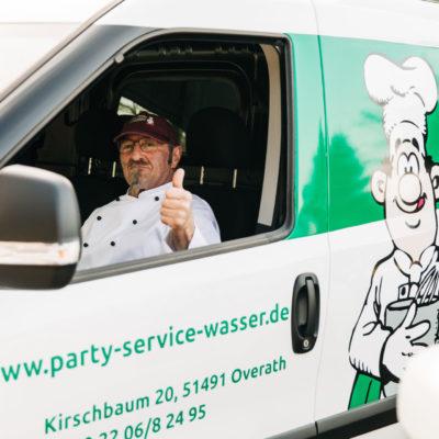 Party Service Wasser Mittagessen Lieferung Lieferservice Overath Marialinden